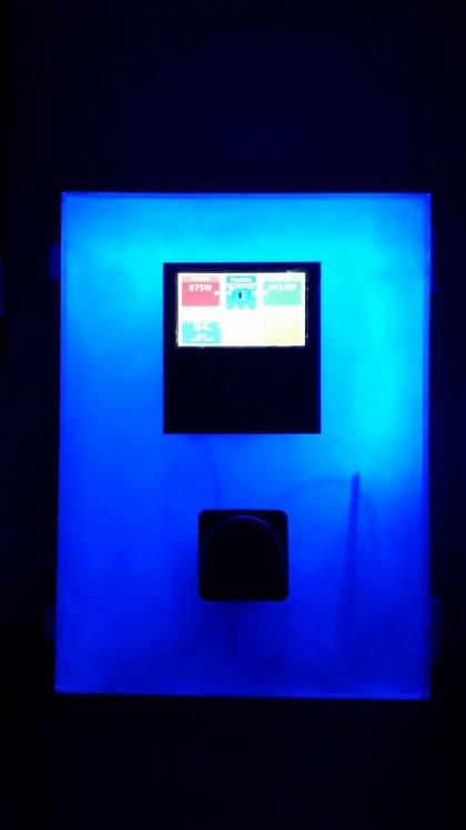 Blue Wall Mini Box