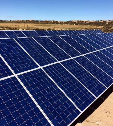 30 KW - Orbic Solar Installed Canadian Solar Array