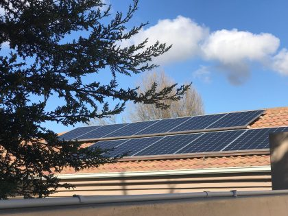 Solar PV Roof Panels